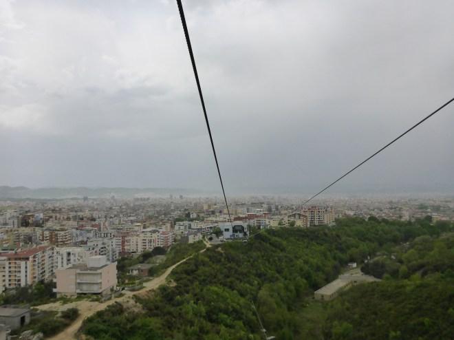 Dajti Ekspres in in Tirana.