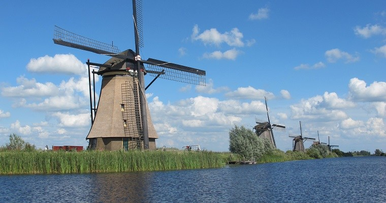 The mills of Kinderdijk – A UNESCO World Heritage Site