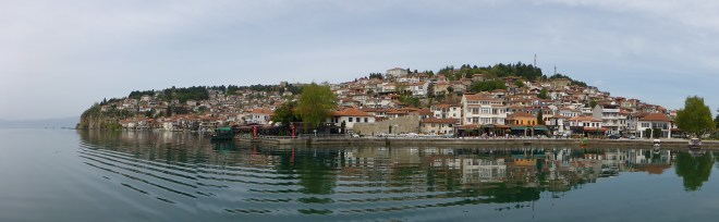 Ohrid lakeside