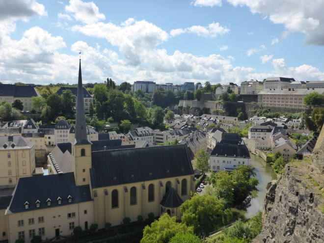 Overview of Grund in Luxembourg2