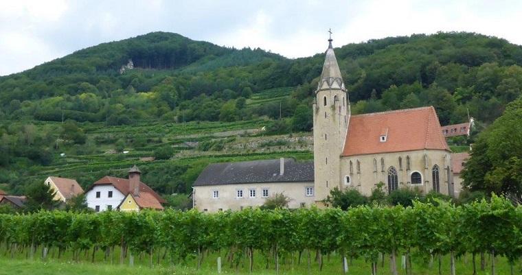 The drive through Austrian landscape