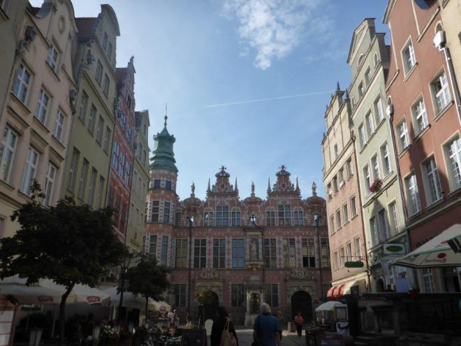 The old Hanseatic town Gdansk in Poland 8