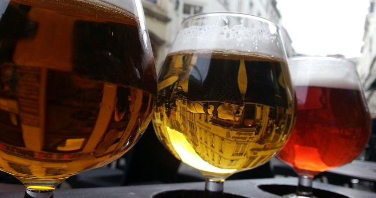 Belgian beer in Brussels