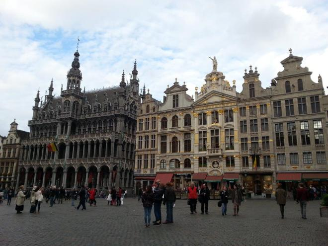 Grand Place in Brussels, Belgium2