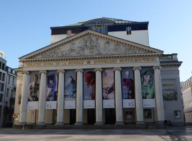 The Opera in Brussels