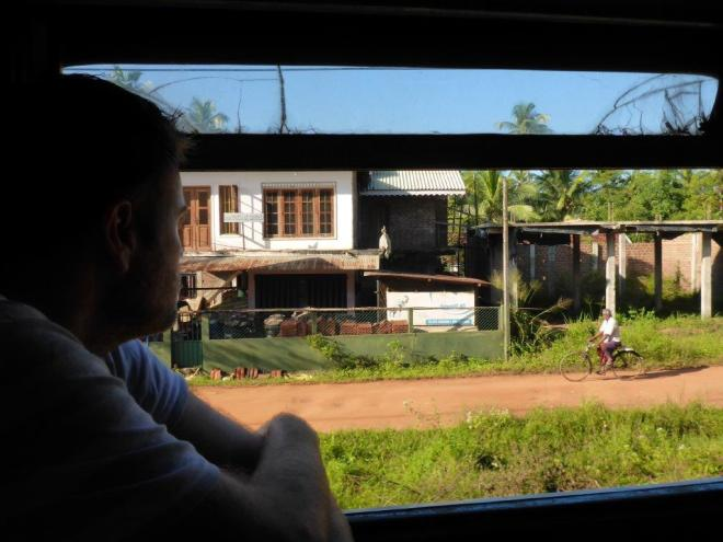 View from the train from Colombo to Polonnaruwa, Sri Lanka 5