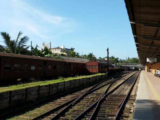 Galle Railway Station.