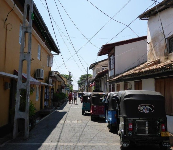 Street in Galle