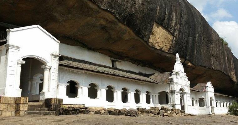 The Rock Temple of Dambulla