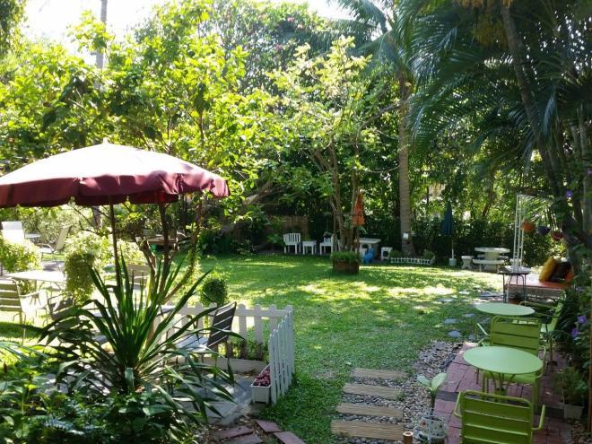 The nice garden cafe The Hopper