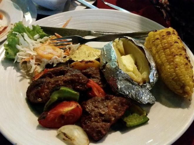Kebab at Jep's on Koh Samet