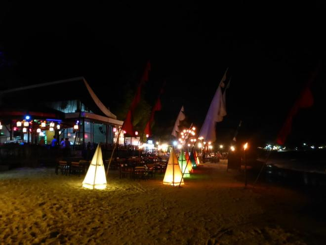 The beach bar on Koh Samet I think I shared my first bucket of fun