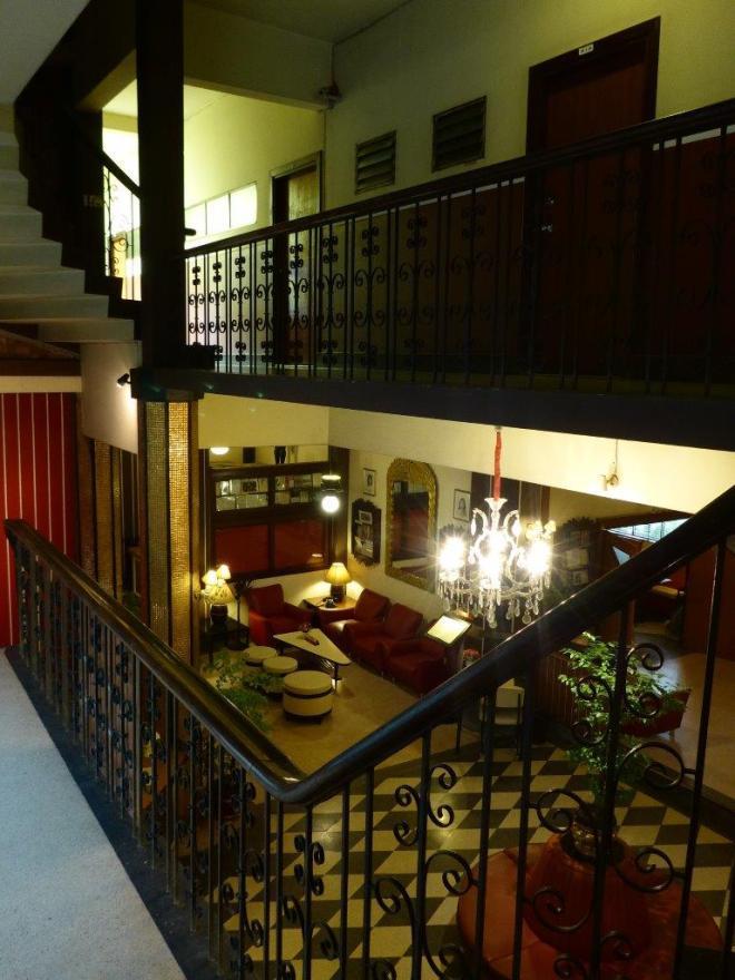The hall at The Atlanta Hotel in Bangkok