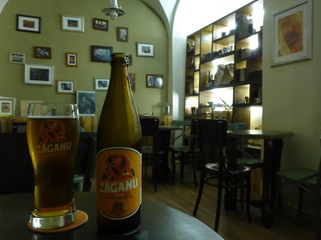 Delicious craft beer at Arhiva de Vafea si Ceai in Sibiu, Romania