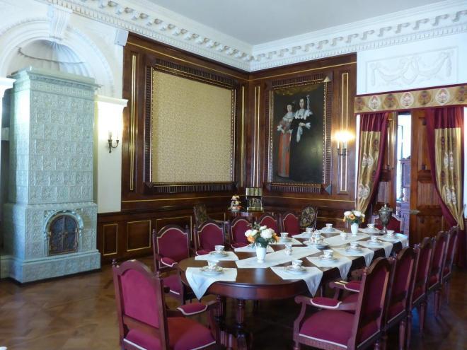 Inside Niasvizh palace in Belarus2