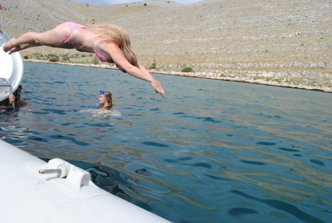 Dive in! Kornati islands, Croatia