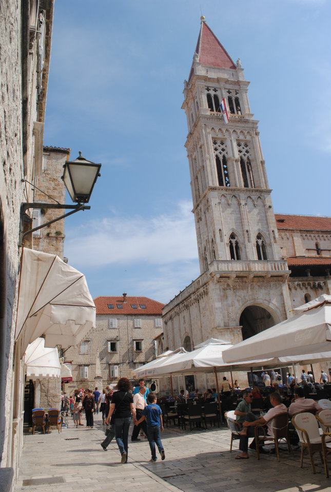 Main square in Trogir, Croatia