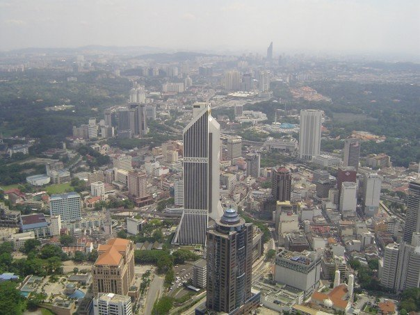 View of Kuala Lumpur seen for KL Tower, Malaysia