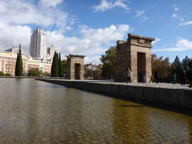 Templo Debod. Madrid, Spain.