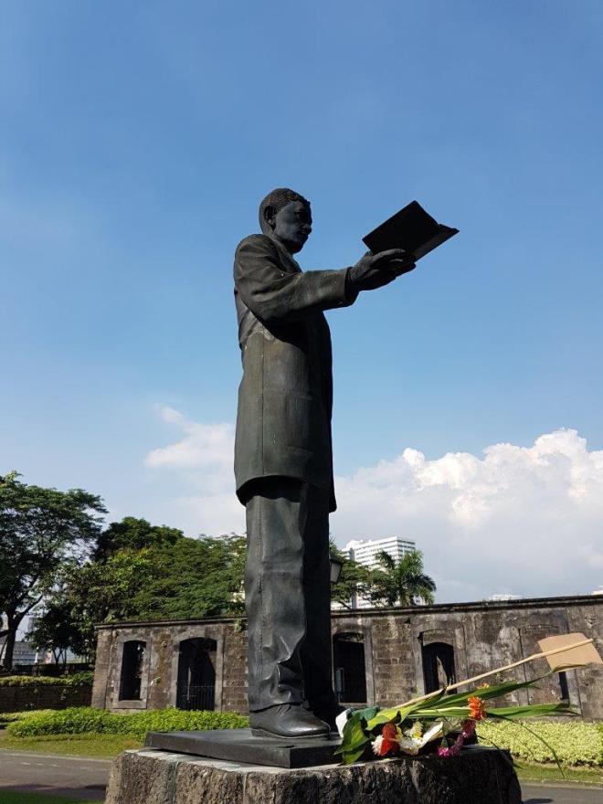 Jose Rizal. Manila, Philippines