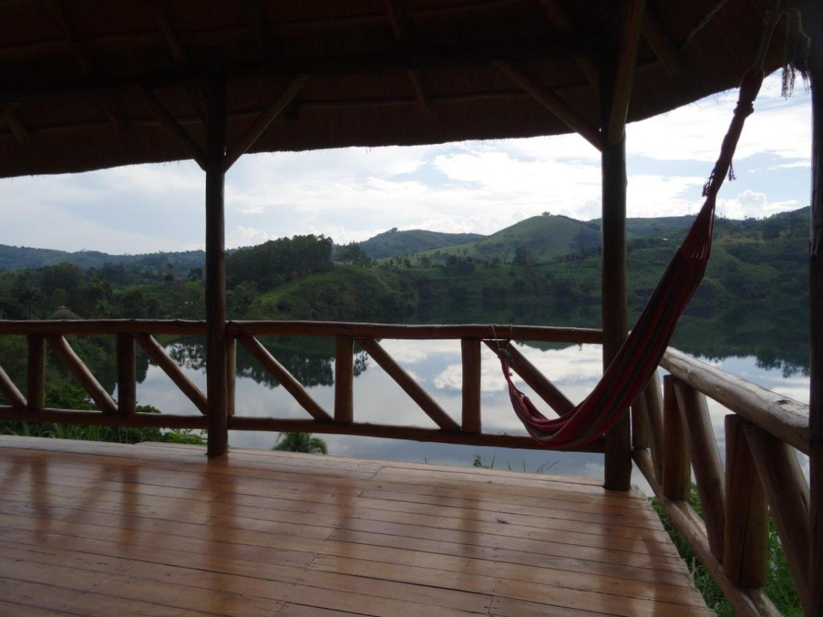 Our fantastic terrace at Crater Safari Lodge by Kibale Forest National Park, Uganda.