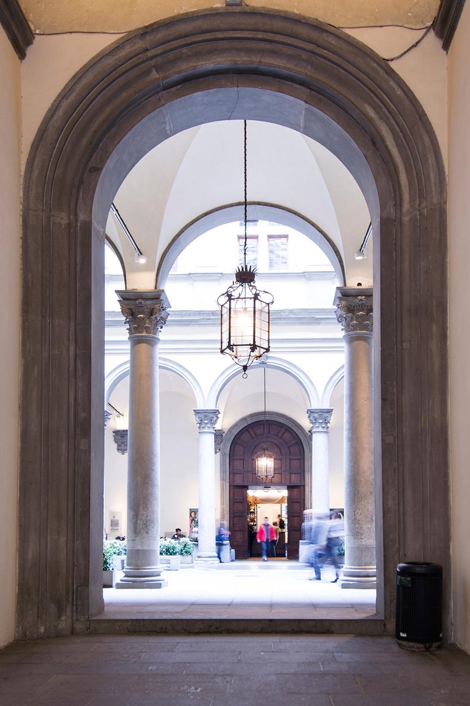 Copertura del Chiostro di Palazzo Strozzi