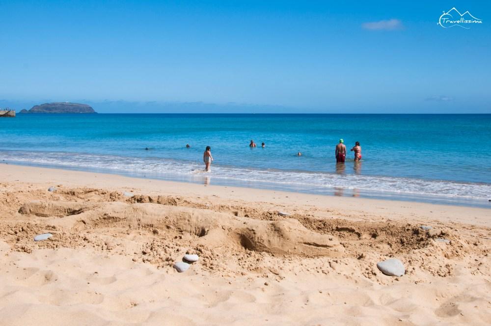 Portugalia plaża Porto Santo rejs z Madery