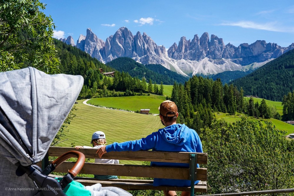 Val di Funes Villnöß, Dolomity