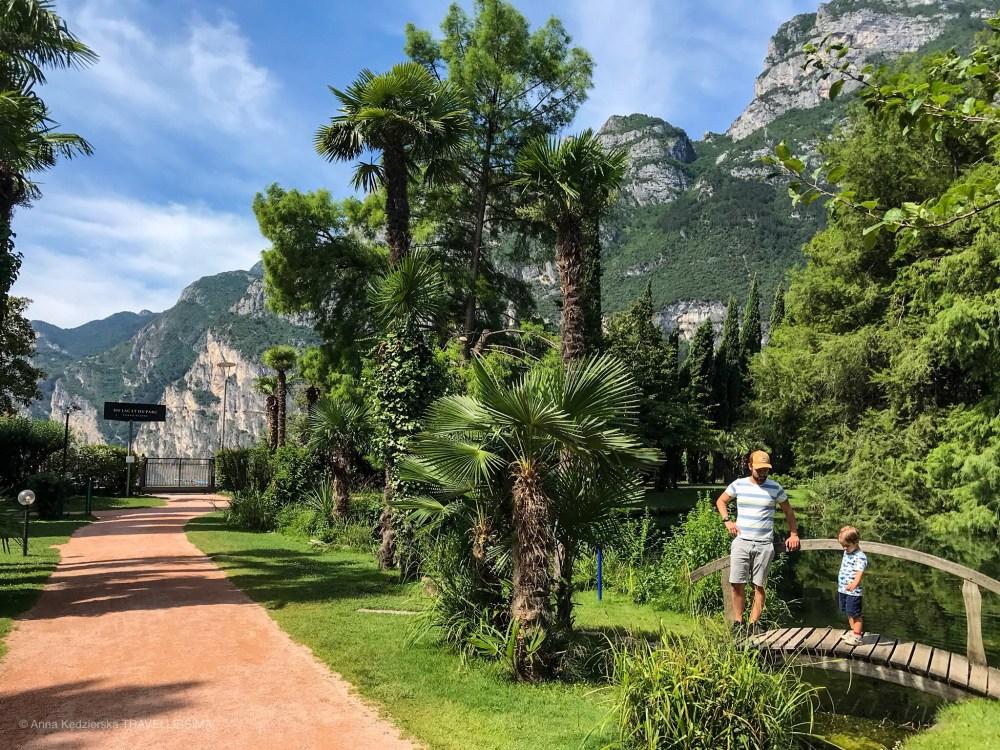 Riva del Garda, du lac et du parc grand resort