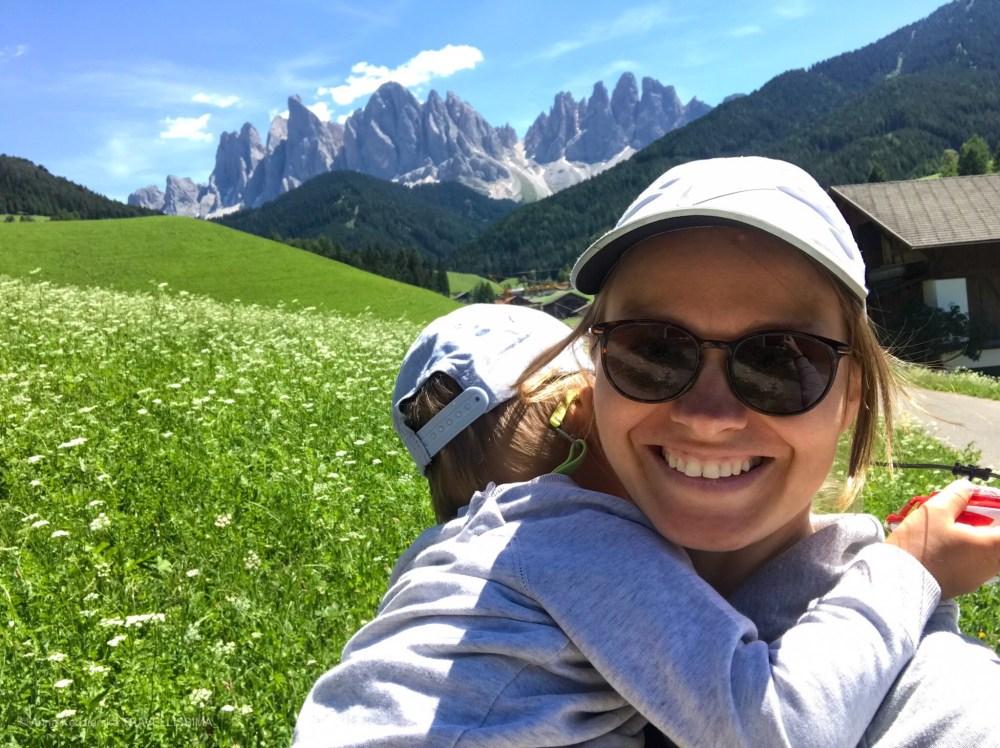Val di Funes, Dolomity, Włochy, wakacje z dziećmi, Anna Kędzierska