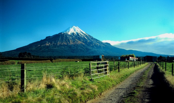 Dirt Road, Mt Taranaki, New Zealand