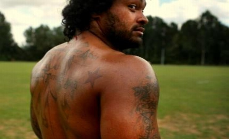 Tongan Man w Tattoos