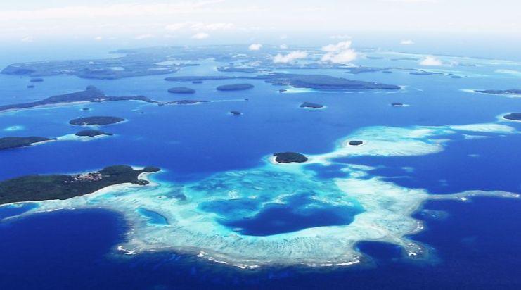 Tonga, Vava'u - Aerial 2