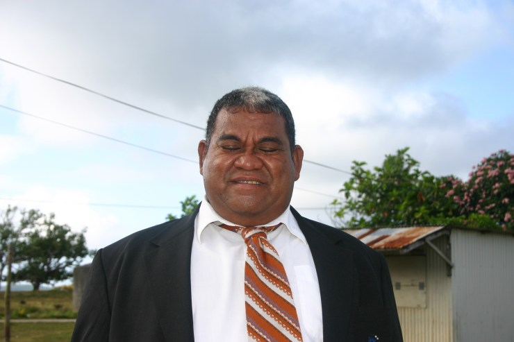 Tongan Man Dressed for Church 2