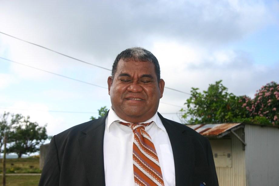 Tongan Man Dressed for Church 2