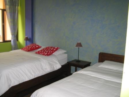 Banos Posada El Marquez bed