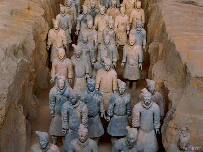 Pic - Terracotta Warriors, Xi'an, Shaanxi Province