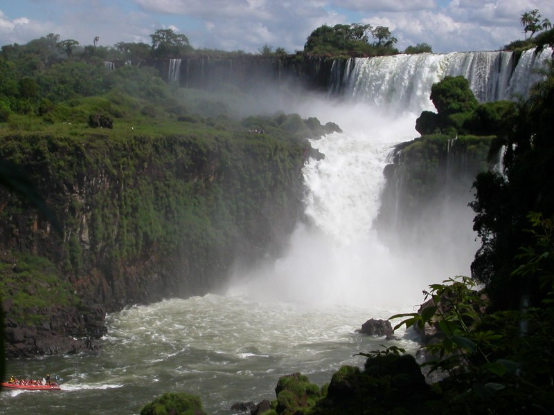Argentina (628) Iguazu Falls Devil's Throat