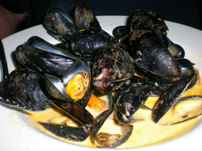 130 Mussels in Cream~