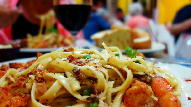 DSC08791 Lobster Shrimp Pasta