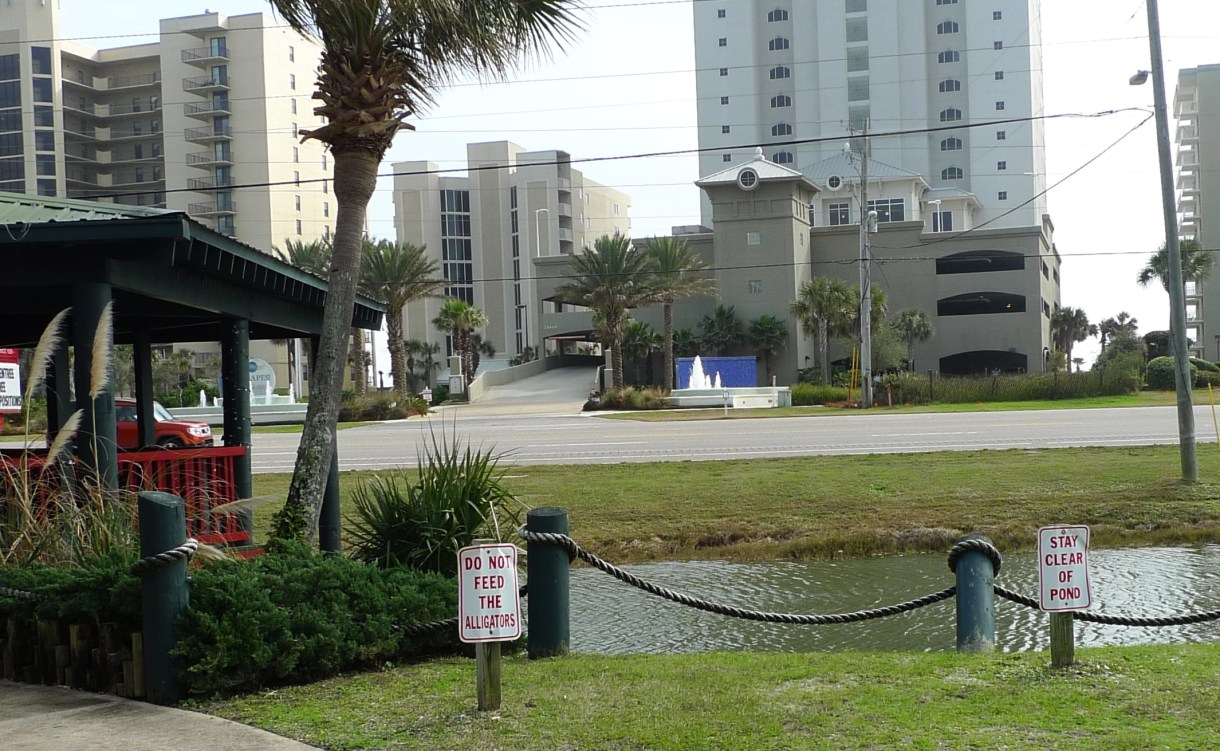 P1110174 Do Not Feed The Alligators, Restaurant, Orange Beach