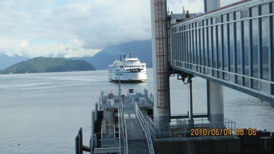 温哥华 Ferry