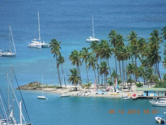 画龙点晴般的沙滩半岛