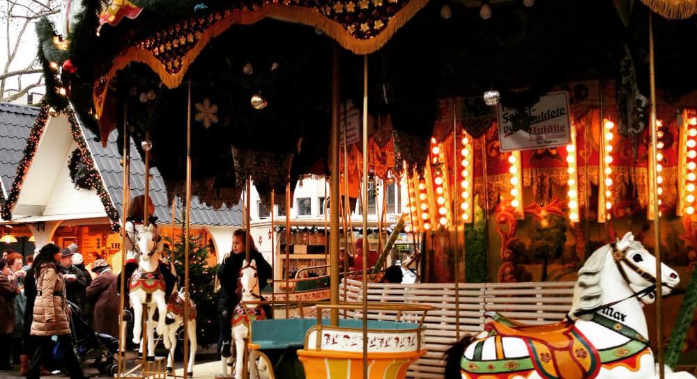 Kerstmarkt In Duitsland Keulen