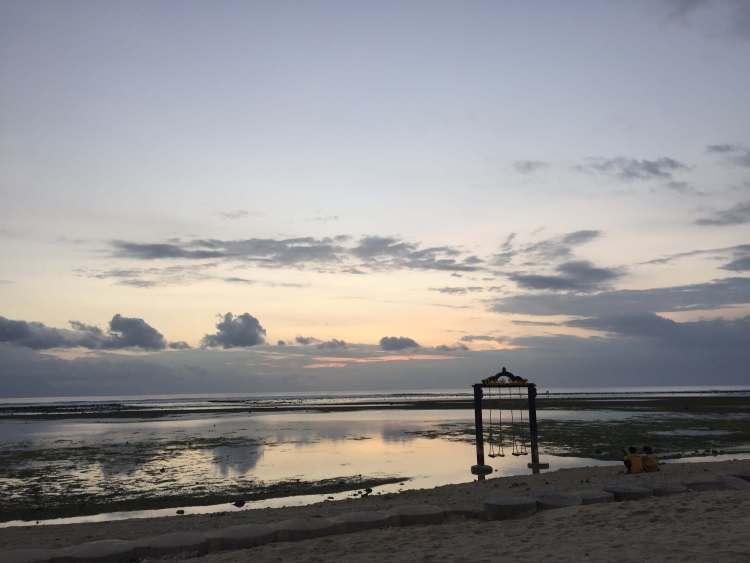 Zonsondergang Gili eilanden