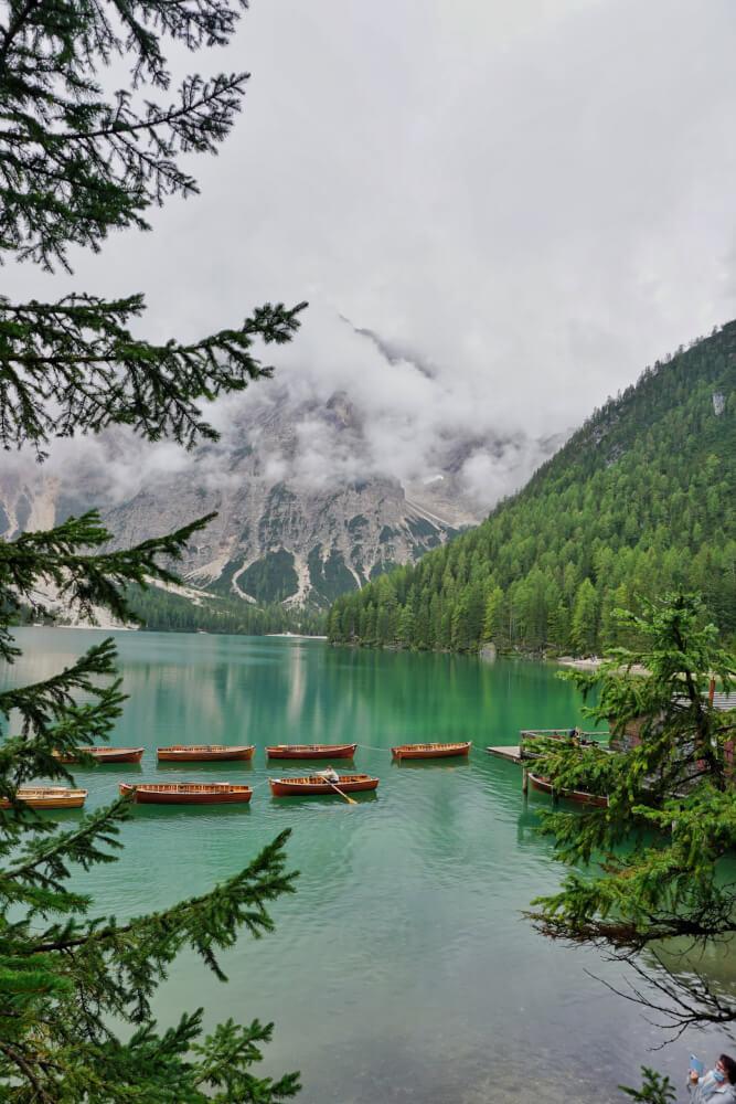Lago di Braies Dolomieten