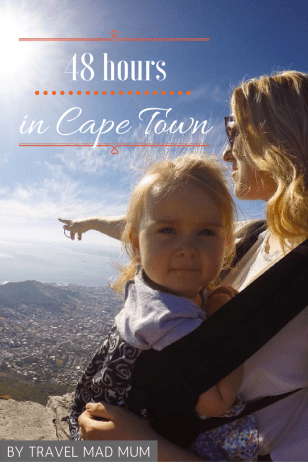 Cape Town with a toddler