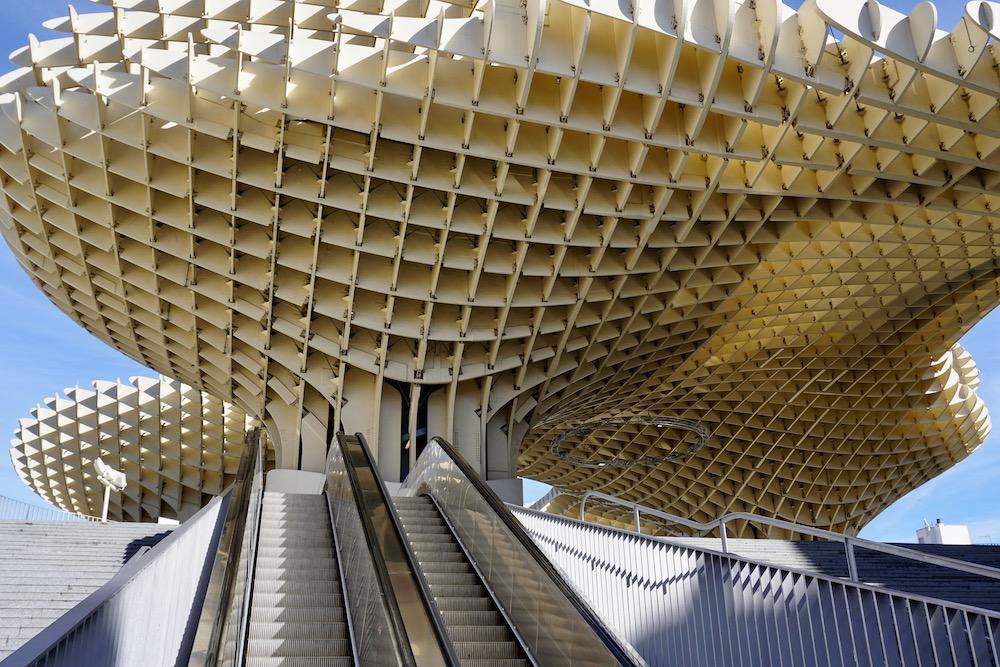Metropol Parasol Sevilla Spanje