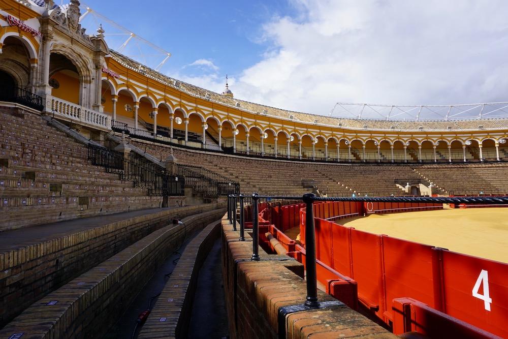 Plaza de Toros Sevilla Spanje