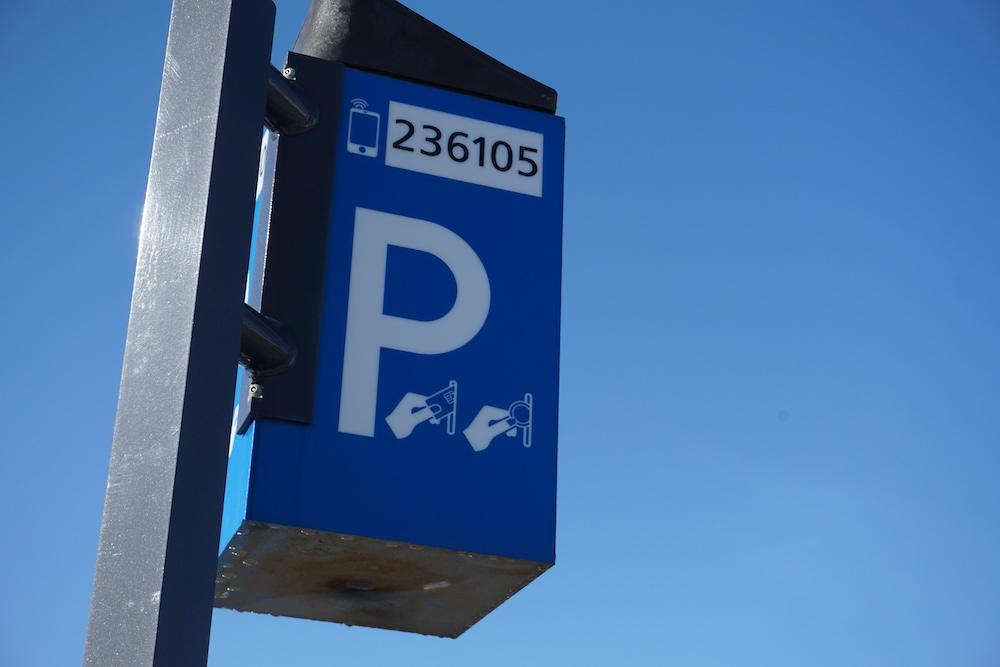 Betaald parkeren Boulevard Barnaart Zandvoort aan Zee